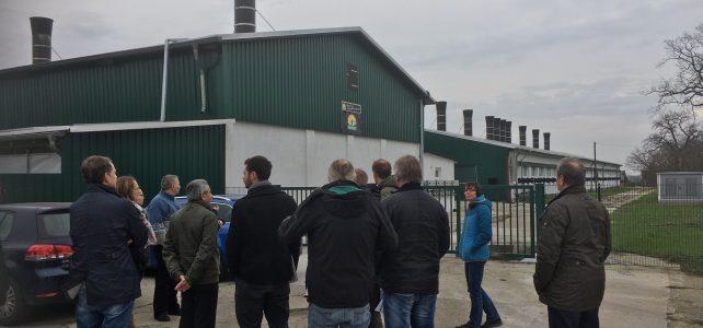Exkursion in die Landwirtschaft Golzow Betriebs-GmbH
